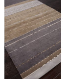 RugStudio presents Addison And Banks Hand Knotted Abr1131 Gray Brown Hand-Knotted, Good Quality Area Rug