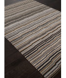 RugStudio presents Addison And Banks Hand Knotted Abr1133 Stone Gray Hand-Knotted, Good Quality Area Rug