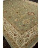 RugStudio presents Addison And Banks Hand Knotted Abr1137 Sea Green Hand-Knotted, Better Quality Area Rug