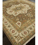 RugStudio presents Addison And Banks Hand Knotted Abr1138 Cocoa Brown Hand-Knotted, Better Quality Area Rug