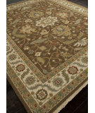 RugStudio presents Addison And Banks Hand Knotted Abr1139 Cocoa Brown Hand-Knotted, Better Quality Area Rug