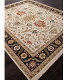 RugStudio presents Addison And Banks Hand Knotted Abr1142 Dark Ivory Hand-Knotted, Better Quality Area Rug