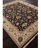 RugStudio presents Addison And Banks Hand Knotted Abr1143 Ebony Hand-Knotted, Better Quality Area Rug