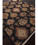 RugStudio presents Addison And Banks Hand Knotted Abr1146 Ebony Hand-Knotted, Better Quality Area Rug