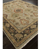 RugStudio presents Addison And Banks Hand Knotted Abr1193 Lead Gray Hand-Knotted, Best Quality Area Rug