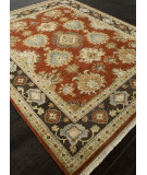 RugStudio presents Addison And Banks Hand Knotted Abr1194 Red Oxide Hand-Knotted, Best Quality Area Rug