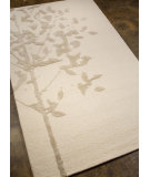 RugStudio presents Addison And Banks Hand Tufted Abr0433 White Hand-Tufted, Best Quality Area Rug