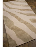 RugStudio presents Addison And Banks Hand Tufted Abr0437 Antique White / Silver Gray Hand-Tufted, Best Quality Area Rug