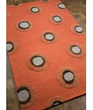 RugStudio presents Addison And Banks Hand Tufted Abr0438 Orange Rust Hand-Tufted, Best Quality Area Rug