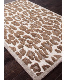 RugStudio presents Addison And Banks Hand Tufted Abr0449 Cloud White/Dark Gray Hand-Tufted, Best Quality Area Rug