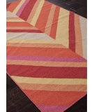 RugStudio presents Addison And Banks Flat Weave Abr0459 Poppy Flat-Woven Area Rug