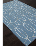RugStudio presents Addison And Banks Flat Weave Abr1217 Ocean Blue Flat-Woven Area Rug