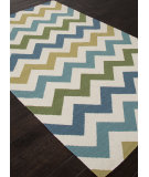 RugStudio presents Addison And Banks Flat Weave Abr1218 White Flat-Woven Area Rug