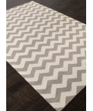 RugStudio presents Addison And Banks Flat Weave Abr1222 Medium Gray Flat-Woven Area Rug