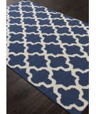 RugStudio presents Addison And Banks Flat Weave Abr1224 True Navy Flat-Woven Area Rug