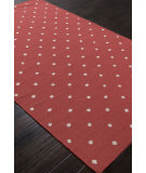 RugStudio presents Addison And Banks Flat Weave Abr1227 Chili Pepper Flat-Woven Area Rug