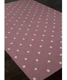RugStudio presents Addison And Banks Flat Weave Abr0461 Crushed Berry Flat-Woven Area Rug