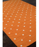 RugStudio presents Addison And Banks Flat Weave Abr0463 Orange Flat-Woven Area Rug