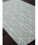 RugStudio presents Addison And Banks Flat Weave Abr0465 Light Turquoise Flat-Woven Area Rug