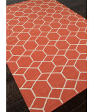 RugStudio presents Addison And Banks Flat Weave Abr0480 Poppy Flat-Woven Area Rug