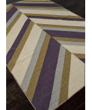 RugStudio presents Addison And Banks Flat Weave Abr0482 Dark Ivory Flat-Woven Area Rug
