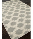 RugStudio presents Rugstudio Sample Sale 81877R Antique White / Medium Gray Flat-Woven Area Rug