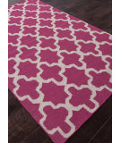 RugStudio presents Addison And Banks Flat Weave Abr0505 Medium Magenta Flat-Woven Area Rug