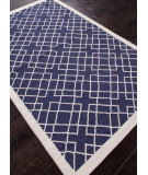 RugStudio presents Addison And Banks Flat Weave Abr0508 Deep Navy Flat-Woven Area Rug
