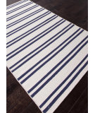 RugStudio presents Rugstudio Sample Sale 81897R White / Deep Navy Flat-Woven Area Rug