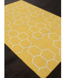 RugStudio presents Addison And Banks Flat Weave Abr1228 Yellow Flat-Woven Area Rug