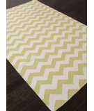 RugStudio presents Addison And Banks Flat Weave Abr1234 Wild Lime Flat-Woven Area Rug