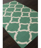 RugStudio presents Addison And Banks Flat Weave Abr1238 Emerald Green Flat-Woven Area Rug