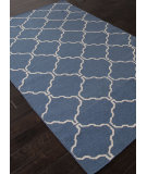 RugStudio presents Addison And Banks Flat Weave Abr1244 Dark Denim Flat-Woven Area Rug
