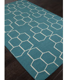 RugStudio presents Rugstudio Sample Sale 103738R Deep Lake Flat-Woven Area Rug