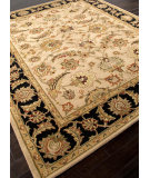 RugStudio presents Addison And Banks Hand Tufted Abr0521 Beige/Ebony Hand-Tufted, Better Quality Area Rug