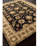 RugStudio presents Rugstudio Sample Sale 82226R Ebony / Sand Hand-Tufted, Better Quality Area Rug
