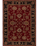 RugStudio presents Addison And Banks Hand Tufted Abr0527 Red/Ebony Hand-Tufted, Better Quality Area Rug