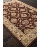 RugStudio presents Addison And Banks Hand Tufted Abr1282 Deep Ruby Hand-Tufted, Best Quality Area Rug