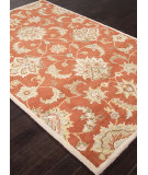 RugStudio presents Addison And Banks Hand Tufted Abr1285 Orange Rust Hand-Tufted, Best Quality Area Rug