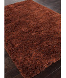 RugStudio presents Addison And Banks Shag Abr0545 Sun Orange/Plum Area Rug