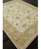 RugStudio presents Addison And Banks Hand Knotted Abr1300 Bone White Hand-Knotted, Best Quality Area Rug
