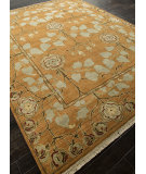 RugStudio presents Addison And Banks Hand Knotted Abr1330 Pumpkin Hand-Knotted, Best Quality Area Rug