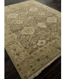 RugStudio presents Addison And Banks Hand Knotted Abr1332 Gray Brown Hand-Knotted, Best Quality Area Rug