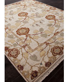 RugStudio presents Addison And Banks Hand Knotted Abr1335 Creamy White Hand-Knotted, Best Quality Area Rug