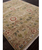 RugStudio presents Addison And Banks Hand Knotted Abr1336 Light Green Hand-Knotted, Best Quality Area Rug