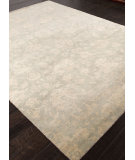 RugStudio presents Addison And Banks Hand Knotted Abr1339 Ice Blue Hand-Knotted, Good Quality Area Rug