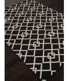 RugStudio presents Addison And Banks Indoor-Outdoor Abr1341 Black Machine Woven, Good Quality Area Rug