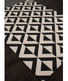 RugStudio presents Addison And Banks Indoor-Outdoor Abr1342 Black Machine Woven, Good Quality Area Rug