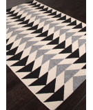 RugStudio presents Addison And Banks Indoor-Outdoor Abr1343 Black Machine Woven, Good Quality Area Rug