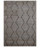 RugStudio presents Rugstudio Sample Sale 93484R Cloud White / Silver Ash Hand-Knotted, Good Quality Area Rug